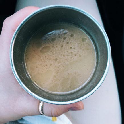 coffee, adaptogen, fat fueled, coffee, recipe